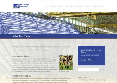 Ambridge-Regional-History-Page