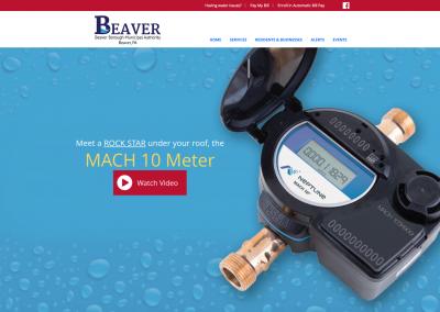 BeaverMunicipalAuthorityMockupDesktop